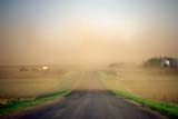 ELE WIN MIS  AB  KJM1911319DDUST STORM AND ROADSEDGEWICK                         05..© KEVIN MORRIS                  ALL RIGHTS RESERVEDAB_;ALBERTA;DUST;DUST_STORMS;ELEMENTS;EROSION;FARMING;PLAINS;PRAIRIES;ROADS;RURAL;SEDGEWICK;WEATHER;WINDLONE PINE PHOTO              (306) 683-0889