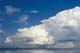 CUMULUS CLOUDS OVER LAKE WINNIPEG, ARNES