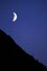 MOONSET, KLUANE RANGE, KLUANE NATIONAL PARK