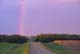 RAINBOW OVER COUNTRY ROAD, CHRISTOPHER LAKE