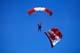 SKYDIVER AND CANADIAN FLAG, LETHBRIDGE