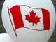 CANADA FLAG ON BALLOON, SASKATOON