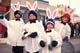 CHILDREN IN PARADE - BUNNY EARS, SASKATOON