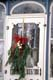 CHRISTMAS WREATH ON SCREEN DOOR, ELORA