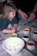 GIRL COLOURING EASTER EGGS, SASKATOON