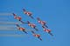 SNOWBIRDS IN FLIGHT, NORTH BATTLEFORD