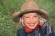YOUNG COWGIRL IN GRASS, DUCK LAKE