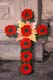 REMEMBRANCE DAY POPPIES ON CROSS, SASKATOON