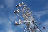 EVE CHI NEW  SK     1505322D   SKY RIDER AGAINST SUMMER SKYSASKATOON                       06/..© CLARENCE W. NORRIS      ALL RIGHTS RESERVEDCARNIVAL;EVENTS;FAIRS;FERRIS_WHEELS;PLAINS;PRAIRIES;RIDES;SASKATCHEWAN;SASKATOON;SK_;SKY_RIDER;SUMMERLONE PINE PHOTO              (306) 683-0889