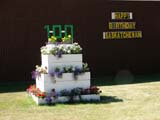 EVE CEN SAS  SK  LJN05A0669DX  HAPPY BIRTHDAY FLOWERBOXSASKATCHEWAN CENTENNIALPREECEVILLE                      07..© LAURA NORRIS               ALL RIGHTS RESERVEDCENTENNIAL;EVENTS;FLOWERS;NUMBERS;PLAINS;PRAIRIES;PREECEVILLE;SASKATCHEWAN;SK_;SUMMERLONE PINE PHOTO             (306) 683-0889