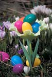 EVE EAS MIS  ON  BMM1001258D  VTPLASTIC EASTER EGGS IN GARDENONTARIO                             04/..© BEV MCMULLEN                ALL RIGHTS RESERVEDCENTRAL;EASTER;EGGS;EVENTS;ON_;ONTARIO;SPRING;VTLLONE PINE PHOTO              (306) 683-0889