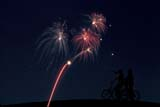 EVE FIR MIS  SK     1015280D   CANADA DAY FIREWORKSBOYS SILHOUETTED ON HILLSASKATOON                      07/01© CLARENCE W. NORRIS     ALL RIGHTS RESERVEDBOY;CANADA_DAY;CHILDREN;EVENTS;FIREWORKS;MARC;MICHAEL;PEOPLE;PLAINS;PRAIRIES;SASKATCHEWAN;SASKATOON;SILHOUETTE;SK_;SUMMERLONE PINE PHOTO              (306) 683-0889