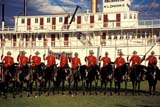 EVE RCM MUS  YT  PEH10000131D RCMP MUSICAL RIDE IN FRONT OF S.S. KLONDIKES.S. KLONDIKE NATIONAL HISTORIC SITEWHITEHORSE                      06..© PHIL HOFFMAN                ALL RIGHTS RESERVEDANIMALS;CANADIAN;EVENTS;GROUPS;HISTORIC;HORSES;NATIONAL;PEOPLE;POLICE;RCMP;RCMP_MUSICAL_RIDE;SHIPS;S_S_KLONDIKE;S_S_KLONDIKE_NHS;TEAMWORK;TOURISM;UNIFORMS;WHITEHORSE;YT_;YUKONLONE PINE PHOTO                  (306) 683-0889