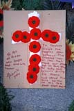 EVE REM DAY  SK  LJN2113941D  VTREMEMBRANCE CROSS MADE FROM POPPIES (HOMEMADE)SASKATOON                       11/11© LAURA NORRIS                 ALL RIGHTS RESERVEDBULLETINS;CRAFTS;CROSSES;EVENTS;PLAINS;POPPIES;PRAIRIES;REMEMBRANCE_DAY;SASKATCHEWAN;SASKATOON;SK_;VTL;WINTERLONE PINE PHOTO              (306) 683-0889