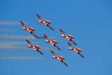 EVE SNO MIS  SK  GMM0001462D      SNOWBIRDS IN FLIGHTNORTH BATTLEFORD AIRSHOWNORTH BATTLEFORD            08/..© GARFIELD MACGILLIVRAY   ALL RIGHTS RESERVEDAERIAL;AIRPLANES;AIRSHOWS;CANADIAN;EVENTS;FLIGHTS;NORTH_BATTLEFORD;PLAINS;PRAIRIES;SASKATCHEWAN;SK_;SKY;SNOWBIRDS;TEAMWORKLONE PINE PHOTO                (306) 683-0889