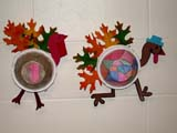 EVE THA MIS  SK  CWN02D4100D  TURKEY CRAFT DISPLAY, THANKSGIVINGSASKATOON                       1013© CLARENCE W. NORRIS      ALL RIGHTS RESERVEDART;AUTUMN;CRAFTS;EVENTS;RELIGION;PLAINS;PRAIRIES;SASKATCHEWAN;SASKATOON;SK_;THANKSGIVING;TURKEYSLONE PINE PHOTO              (306) 683-0889