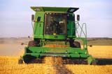 FAR COM MIS  SK     2008617D  NMRJOHN DEERE COMBINE IN FIELD AT HARVESTWARMAN                               08/02             © CLARENCE W. NORRIS         ALL RIGHTS RESERVEDCOMBINING;CROPS;EQUIPMENT;FARMING;HARVEST;JOHN_DEERE;MR_;PLAINS;PRAIRIES;RURAL;SASKATCHEWAN;SCENES;SK_;WARMAN   LONE PINE PHOTO                  (306) 683-0889