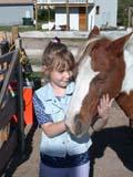 FAR SCE MIS  SK  CWN02D3473D  MR #362 VTGIRL & HORSE IN CORRALMEACHAM                               09/. .© CLARENCE W. NORRIS          ALL RIGHTS RESERVEDANIMALS;BULLETINS;FARMING;GIRL;HORSES;LIVESTOCK;MEACHAM;MR_;PEOPLE;PETS;PLAINS;PRAIRIES;RURAL;SASKATCHEWAN;SCENES;SK_;VTLLONE PINE PHOTO                  (306) 683-0889