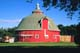 ROUND RED BARN IN SUMMER, ASQUITH