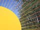 WROUGHT-IRON FENCE, LOOKS LIKE SUN, SPRINGSIDE