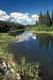 WASKESIU RIVER IN SUMMER, PRINCE ALBERT NATIONAL PARK