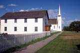 HIS NAT BAT  SK       2006502DRECTORY AND CHURCHBATOCHE NATIONAL HISTORIC SITEBATOCHE                             083© CLARENCE W. NORRIS        ALL RIGHTS RESERVEDBATOCHE;BATOCHE_NHS;BOARDWALKS;BUILDINGS;CATHOLIC;CHURCHES;FENCES;HISTORIC;METIS;PIONEERS;PLAINS;PRAIRIES;RECTORIES;RELIGION;SASKATCHEWAN;SIDEWALKS;SK_;STRUCTURES;SUMMER;TOURISM;WOODLONE PINE PHOTO                (306) 683-0889