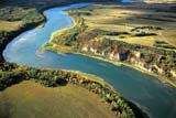 HIS NAT BAT  SK     2009509DAERIAL VIEW OF BATOCHE NATIONAL HISTORIC SITEAND SOUTH SASKATCHEWAN RIVERBATOCHE NAT HIS SITE        09/11© CLARENCE W. NORRIS      ALL RIGHTS RESERVEDAERIAL;AUTUMN;BATOCHE;BATOCHE_NHS;HISTORIC;METIS;PIONEERS;PLAINS;PRAIRIES;RIVERS;SASKATCHEWAN;SCENES;SK_;SOUTH_SASKATCHEWAN_RIVER;TOURISM;WATERLONE PINE PHOTO              (306) 683-0889