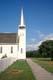 SIDEWALK, FENCE AND CHURCH, BATOCHE NATIONAL HISTORIC SITE