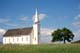 CHURCH AND TREE IN SUMMER, BATOCHE NATIONAL HISTORIC SITE
