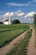 ROAD LEADING TO CHURCH, BATOCHE NATIONAL HISTORIC SITE