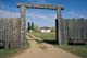 MAIN GATE TO FORT, FORT BATTLEFORD NATIONAL HISTORIC SITE