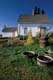 GARDEN AND MAIN HOUSE IN AUTUMN, FORT BATTLEFORD NATIONAL HISTORIC SITE
