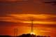 HYDRO-ELECTRIC POWER LINES AT SUNSET, SASKATOON