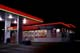 CO-OP SERVICE STATION AT NIGHT, WARMAN