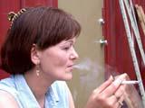 HEA SMO MIS  SK  CWN02D1256D    MR # 360WOMAN SMOKING CIGARETTESASKATOON                            07/19© CLARENCE W. NORRIS           ALL RIGHTS RESERVEDCIGARETTES;FEMALE;HABITS;HEALTH;MR_;PEOPLE;PLAINS;PRAIRIES;SASKATCHEWAN;SASKATOON;SK_;SMOKINGLONE PINE PHOTO                  (306) 683-0889