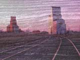 PHO DOU EXP  SK  CWN02D3013DDIGITAL DOUBLE EXPOSURE, ELEVATORS AND TRACKSAND WEATHERED WOOD KAMSACK                           0928© CLARENCE W. NORRIS      ALL RIGHTS RESERVEDDOUBLE;DOUBLE_EXPOSURE;ELEVATORS;EXPOSURE;KAMSACK;PLAINS;PRAIRIES;PHOTOGRAPHY;RURAL;SASKATCHEWAN;SCENES;SK_;TRAINSLONE PINE PHOTO              (306) 683-0889