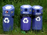 REC MIS MIS  SK  CWN02D0561D RECYCLING BINS CYPRESS HILLS INTERPROVINCIAL PARK          07/03© CLARENCE W. NORRIS           ALL RIGHTS RESERVEDCYPRESS_HILLS_PP;ENVIRONMENT;POLLUTION;PP_;RECYCLING;SASKATCHEWAN;SK_;WASTELONE PINE PHOTO                  (306) 683-0889