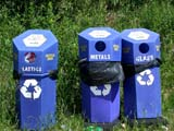 REC MIS MIS  SK  CWN02D0587D       RE-CYCLING BINS CYPRESS HILLS INTERPROVINCIAL PARK           07/02© CLARENCE W.  NORRIS          ALL RIGHTS RESERVEDCYPRESS_HILLS_PP;ENVIRONMENT;POLLUTION;PP_;RECYCLING;SASKATCHEWAN;SK_;WASTELONE PINE PHOTO                  (306) 683-0889