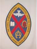 REL UNI MIS  SK  CWN02D4121D  VT      UNITED CURCH CRESTSASKATOON                       1013© CLARENCE W. NORRIS      ALL RIGHTS RESERVEDBULLETINS;CRESTS;RELIGION;SASKATCHEWAN;SASKATOON;SYMBOLS;UNITED;VTLLONE PINE PHOTO              (306) 683-0889