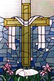 REL UNI MIS  SK  LJN0A0784DX  VTSTAINED GLASS WINDOW, CROSS, ROBE, LAMB AND LILIESMOUNT ROYAL-EMMANUEL UNITED CHURCHSASKATOON             06© LAURA NORRIS      ALL RIGHTS RESERVEDBULLETINS;CHURCHES;CROSSES;EASTER;EVENTS;LAMBS;LILIES;MOUNT_ROYAL_EMMANUEL_UNITED_CHURCH;PLAINS;PRAIRIES;RELIGION;SASKATCHEWAN;SASKATOON;STAINED_GLASS;UNITED;VTL;WINDOWSLONE PINE PHOTO              (306) 683-0889