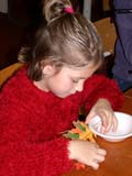 REL UNI PEO  SK  CWN02D4082D  NMR  VT        GIRL WORKING ON THANKSGIVING CRAFT SASKATOON                       1013© CLARENCE W. NORRIS      ALL RIGHTS RESERVEDBULLETINS;CHILDREN;CRAFTS;EVENTS;FEMALE;GIRL;PEOPLE;PLAINS;PRAIRIES;RELIGION;SASKATCHEWAN;SASKATOON;SK_;THANKSGIVING;UNITED;VTLLONE PINE PHOTO              (306) 683-0889