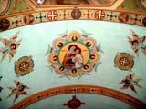 REL UKR MIS  SK   CWN02T0134D                      VIEW OF CEILINGST. GEORGE'S UKRANIAN CATHOLIC CHURCHSASKATOON                            06..© CLARENCE W. NORRIS           ALL RIGHTS RESERVEDART;CATHOLIC;CHURCHES;CULTURE;PAINTINGS;PLAINS;PRAIRIES;RELIGION;SASKATCHEWAN;SASKATOON;SK_;ST_GEORGES_UKRANIAN_CATHOLIC_CHURCH;UKRAINIAN;VTLLONE PINE PHOTO                  (306) 683-0889
