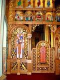 REL UKR MIS  SK   CWN02T0136D  VTVIEW OF SANCTUARYST. GEORGE'S UKRANIAN CATHOLIC CHURCHSASKATOON                            06..© CLARENCE W. NORRIS           ALL RIGHTS RESERVEDCATHOLIC;CHURCHES;CULTURE;PLAINS;PRAIRIES;RELIGION;SASKATCHEWAN;SASKATOON;SK_;ST_GEORGES_UKRANIAN_CATHOLIC_CHURCH;UKRAINIAN;VTLLONE PINE PHOTO                  (306) 683-0889