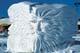 """NORTH WIND"" SNOW SCULPTURE, WINNIPEG"