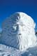 """NORTH WIND"" SNOW SCULPTURE, WINNIPEG"