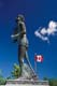 TERRY FOX MONUMENT AND CANADIAN FLAG, THUNDER BAY