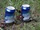 KOKANEE BEER CANS WITH STIRRUPS, HAGUE