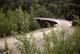 CURVED WOODEN KISKATINAW BRIDGE, ALASKA HIGHWAY