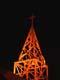 CHURCH TOWER AT NIGHT, YORKTON
