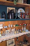 OCC ANT MIS  ON     2102502D  VTCHINA ON SHELVES AT ANTIQUE STOREST. JACOBS                       01                   © CLARENCE W. NORRIS      ALL RIGHTS RESERVEDANTIQUES;CENTRAL;CHINA;COLLECTIBLES;HISTORIC;OCCUPATIONS;ON_;ONTARIO;RETAIL;SHOPPING;ST_JACOBS;VTL;WINTERLONE PINE PHOTO              (306) 683-0889